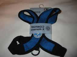Gooby 04110-BLU-L Comfort X Harness Blue Large Soft Syntheti