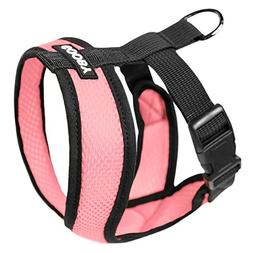 Gooby 04110-PNK-M Comfort X Harness Pink Medium Soft Synthet