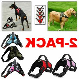 2-PACK Dog Pet Vest Harness Strap Adjustable Nylon Small Med