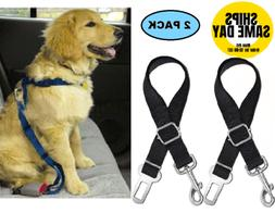 2-PK Cat DOG PET PAW SAFE Seatbelt Car Seat Belt Adjustable