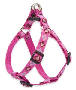 """LupinePet Originals 3/4"""" Puppy Love 20-30"""" Step In Harness f"""
