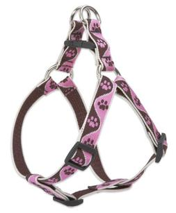 "LupinePet Originals 3/4"" Tickled Pink 20-30"" Step In Harness"