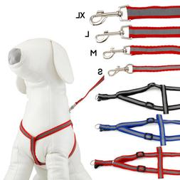DOG HARNESS ADJUSTABLE NYLON HARNESSES COLLAR EASY TO USE WA