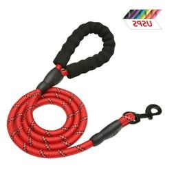 5/6FT Heavy Duty Dog Leash Round Leads Rope for Large Dogs T