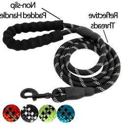 Large Heavy Duty Nylon Dog Leash Lead Rope with Handle for D