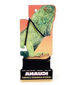 Coastal Pet -Nylon Iguana Harness & Lead, Black