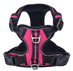 PUPTECK Best Front Range No-Pull Dog Harness with Vertical H