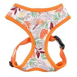 "Puppia ""A Rowan Harness, Medium, Orange"
