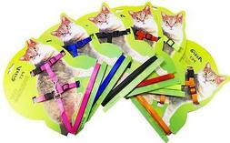 Adjustable Nylon Pet Cat Harness and Leash ~ Collar with Lea