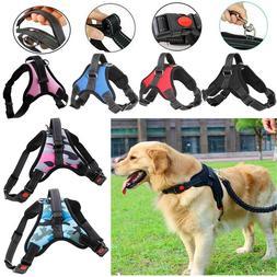 Adjustable Pet Dog Harness XL Large Medium Small Strap Vest