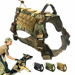 Sirius Survival Alpha1 Tactical Dog Vest, Adjustable Militar