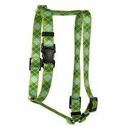"Yellow Dog Design Argyle Green Roman Style H Large 20"" - 28"""