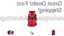 Puppia Authentic Mountaineer II Winter Vest Large RED