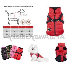 Puppia Authentic Mountaineer II Winter Vest RED Large