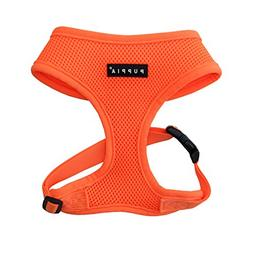 Puppia Authentic Neon Soft Harness A, Orange, Small