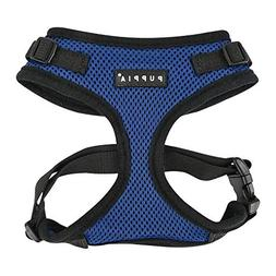 Puppia Authentic RiteFit Harness with Adjustable Neck, Small