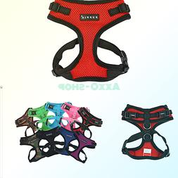 Puppia Authentic RiteFit Harness with Adjustable Neck Red Me