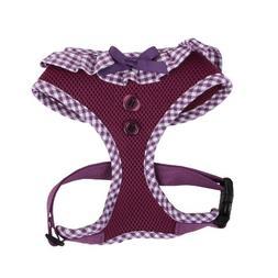 Authentic Puppia Vivien Harness, Purple, Small