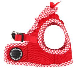 Puppia Authentic Vivien Vest Harness B, Small, Red