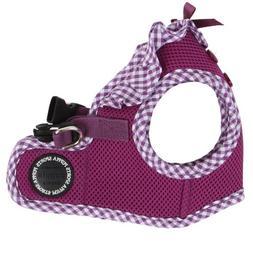 Puppia Authentic Vivien Vest Harness B, Medium, Purple