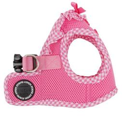 Puppia Authentic Vivien Vest Harness B, Medium, Pink