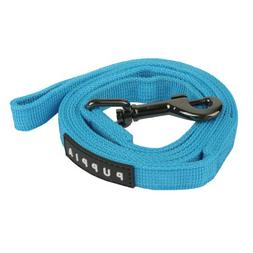 Puppia Authentic Two Tone Lead, Sky Blue, Large