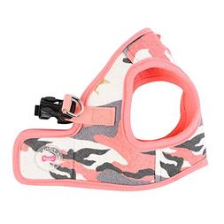 """Puppia """"B Ensign Harness, Large, Pink Camo"""