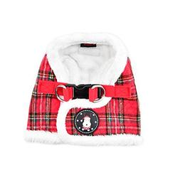 Puppia Blitzen Harness B, X-Large, Checkered Red