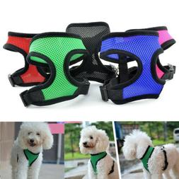Breathable Mesh Small Dog Pet Harness Puppy Vest For Chihuah