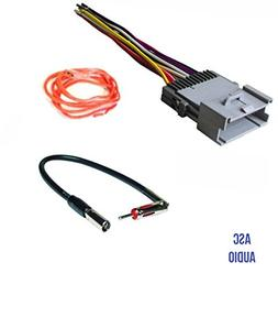 ASC Audio Car Stereo Wire Harness and Antenna Adapter for so