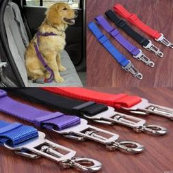 Cat Dog Pet Safety Car Vehicle Strap Seatbelt Seat Belt Adju