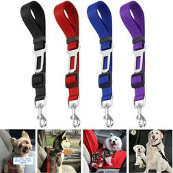 Cat Dog Pet Safety Seat belt Clip for Car Vehicle Adjustable