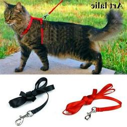 Cat Harness And Leash 3 Colors Nylon