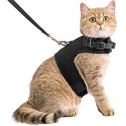 Cat Harness And Leash Escape Proof Safety Adjustable Jackets