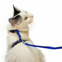 Juvale Small Cat Harness and Leash with 4' Adjustable Nylon