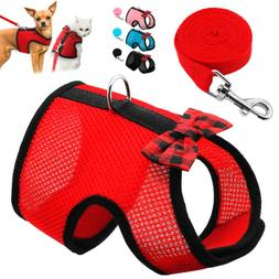 Cat Walking Jacket Harness and Leash Escape Proof Small Dog