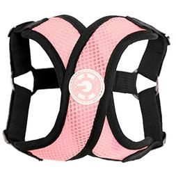 Gooby Choke Free Step-In Comfort X Dog Harness, Medium, Pink