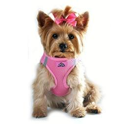 CHOKE FREE REFLECTIVE STEP IN ULTRA HARNESS ★ PINK ★ ALL