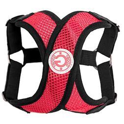 Gooby Choke Free Step-In Comfort X Dog Harness, Medium, Red