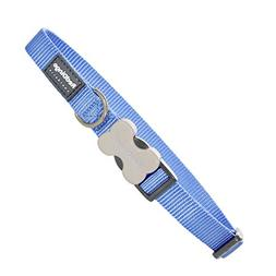Red Dingo Classic Dog Collar, Small, Mid-Blue