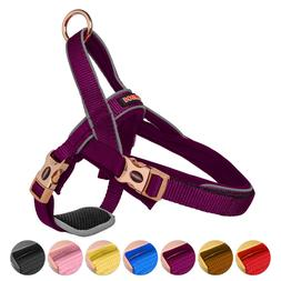 DOGNESS Classic Dog Halter Harness with Belly Protector Pate