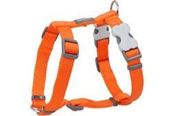 Red Dingo Classic Dog Harness, Medium, Orange