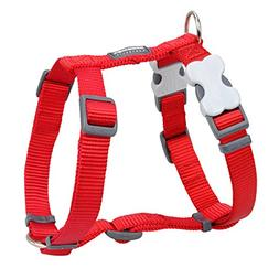Red Dingo Classic Dog Harness, Small, Red
