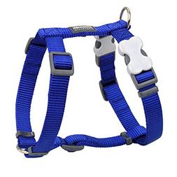 Red Dingo Classic Dog Harness, Small, Blue