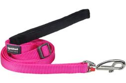 Red Dingo Classic Dog Lead, Large, Pink