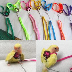 Colorful Parrot Bird Leash Outdoor Adjustable <font><b>Harne