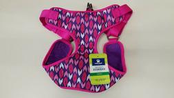 """Top Paw Comfort Dog Harness Pink Arrows Large Girth 28""""-34"""""""