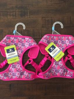 Top Paw Comfort Dog Harnesses Adjustable Small- Lot Of Two -