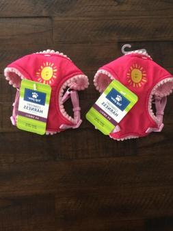 Top Paw Comfort Dog Harnesses Adjustable XX Small- Lot Of Tw