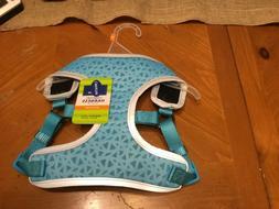 Top Paw Comfort Harness - Blue Geometric Design - Reflective